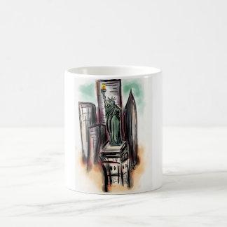 Statue of Liberty Products Basic White Mug