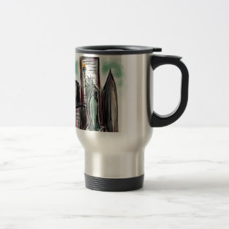 Statue of Liberty Products Stainless Steel Travel Mug