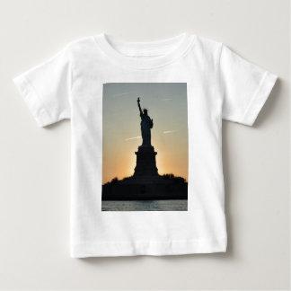Statue of Liberty Profile - ReasonerStore Baby T-Shirt