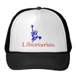 Statue of Liberty -- Retro Libertarian icon Hat