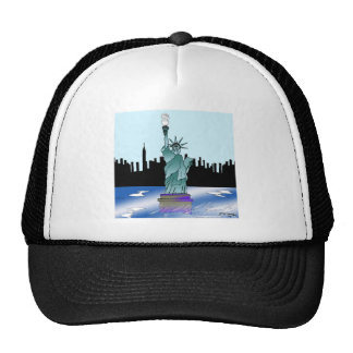 Statue of Liberty Saving Energy Cap
