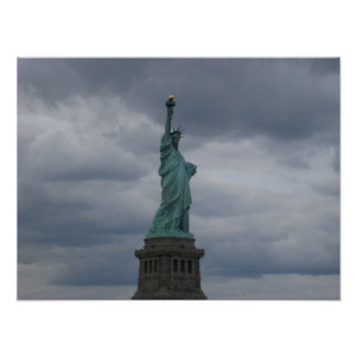 Statue of Liberty Side View Poster