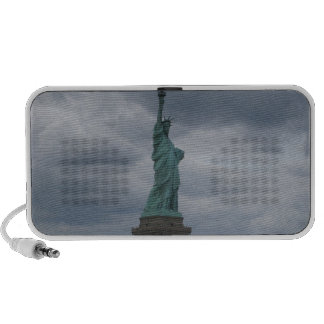 Statue of Liberty Side View Portable Speaker