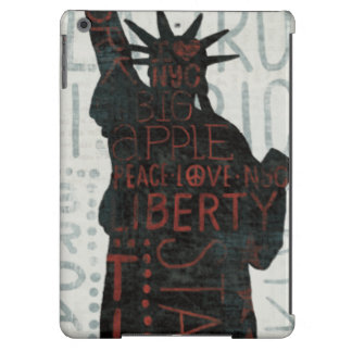 Statue of Liberty Silhouette Case For iPad Air