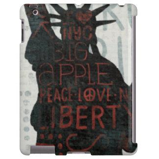 Statue of Liberty Silhouette iPad Case