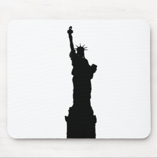 Statue of Liberty Silhouette Mouse Mat