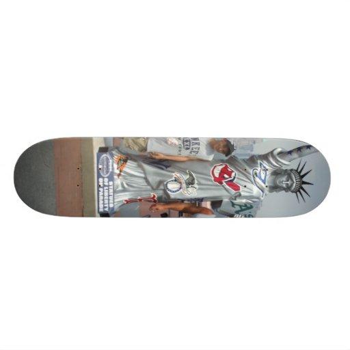 Statue Of Liberty Skatboard Skateboard Deck