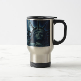 Statue of Liberty Stainless Steel Travel Mug