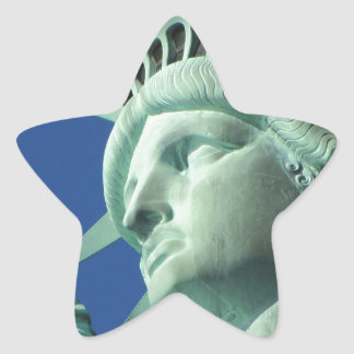 Statue of Liberty Star Sticker