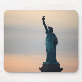 Statue of Liberty Sunset Mouse Mat