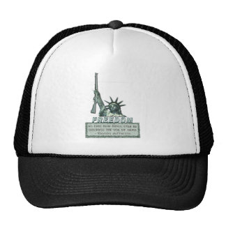 STATUE OF LIBERTY - T JEFFERSON QUOTE - FIREARMS CAP