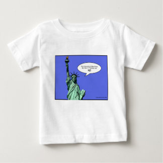 statue-of-liberty - THE BOSS LADY Baby T-Shirt