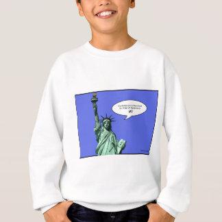 statue-of-liberty - THE BOSS LADY Sweatshirt