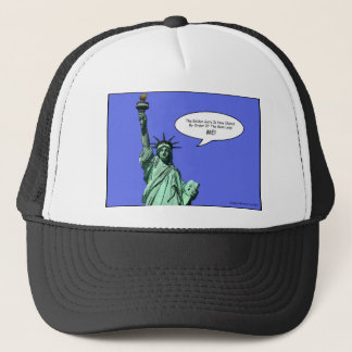 statue-of-liberty - THE BOSS LADY Trucker Hat