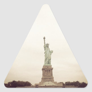 Statue of Liberty Triangle Sticker