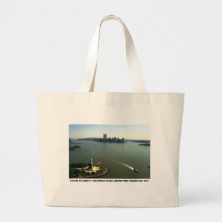 Statue of Liberty, Twin Towers May 2001 Bag