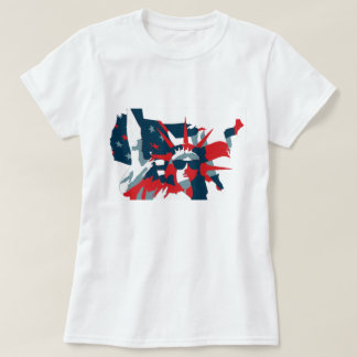 Statue of Liberty Wearing Sunglasses T-Shirt