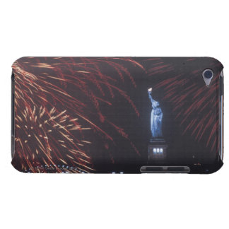 Statue of Liberty with fireworks iPod Touch Covers