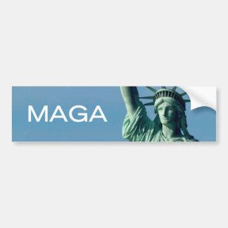 Statue of Libery MAGA Bumper Sticker