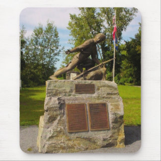Statue of Major Robert Rogers of Rogers' Rangers Mouse Pad