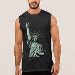 Statue of Metal Sleeveless Shirt