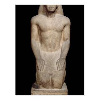 Statue of Nakhtorheb kneeling Postcard