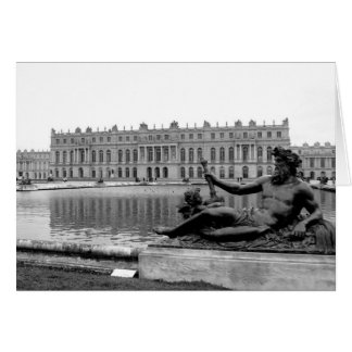 Statue of Neptune at Versailles Card