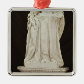 Statue of Queen Anne  1735 Christmas Ornament