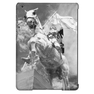 Statue of Rider on Horse iPad Air Cases