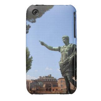 Statue of Roman emperor near the Roman Forum iPhone 3 Covers
