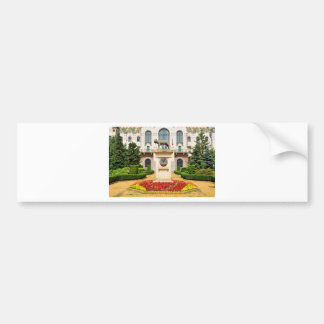 Statue of Romulus and Remus in Mures, Romania Bumper Sticker