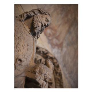 Statue of Saint John the Baptist Postcard