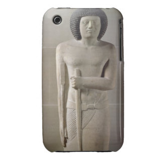 Statue of Sepa, Old Kingdom (painted limestone) iPhone 3 Cases