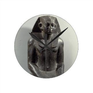 Statue of Sesostris III (1887-49 BC) as a young ma Wallclock