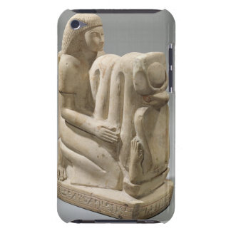 Statue of Setau presenting the cobra goddess Nekhb iPod Touch Cases