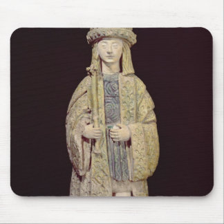 Statue of St. Louis Mouse Mat