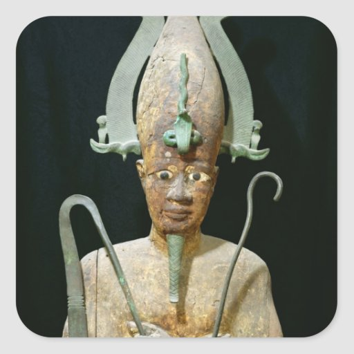 Statue of the Cult of Osiris Sticker