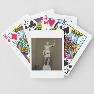 Statue of the Emperor Trajan (53-117 AD) (marble) Bicycle Playing Cards
