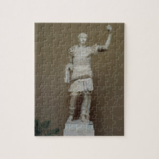 Statue of the Emperor Trajan (53-117 AD) (marble) Jigsaw Puzzle