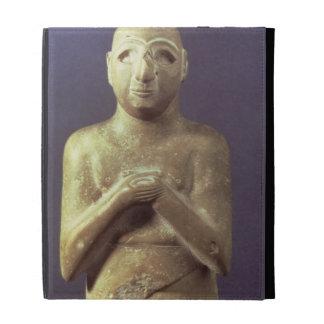 Statue of the God Utu, Mesopotamian, c.2400 BC (li iPad Folio Cover