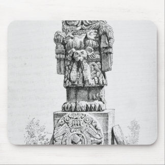 Statue of the Goddess Coatlicue Mouse Pad