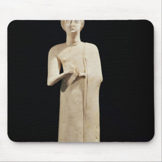 Statue of the Great Goddess, from Tell Asmar Mouse Mat