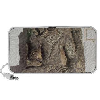 Statue of the Hindu God Brahma Laptop Speaker