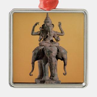 Statue of the Hindu God Ganesh Christmas Ornament