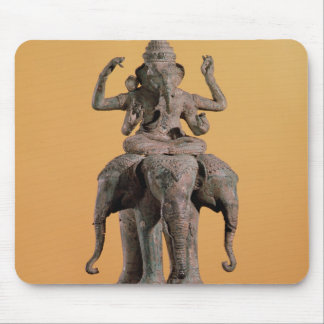 Statue of the Hindu God Ganesh Mouse Mat