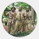 Statue of the Three Servicemen Sticker