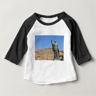 Statue of Trajan in Rome, Italy Baby T-Shirt