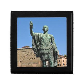 Statue of Trajan in Rome, Italy Gift Box
