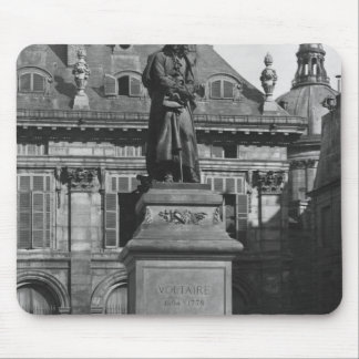 Statue of Voltaire Mouse Mat