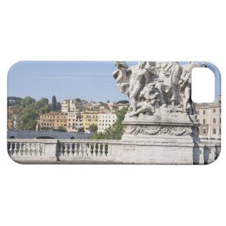 Statue on Ponte Vittorio Emanuele II, Rome, iPhone 5 Case